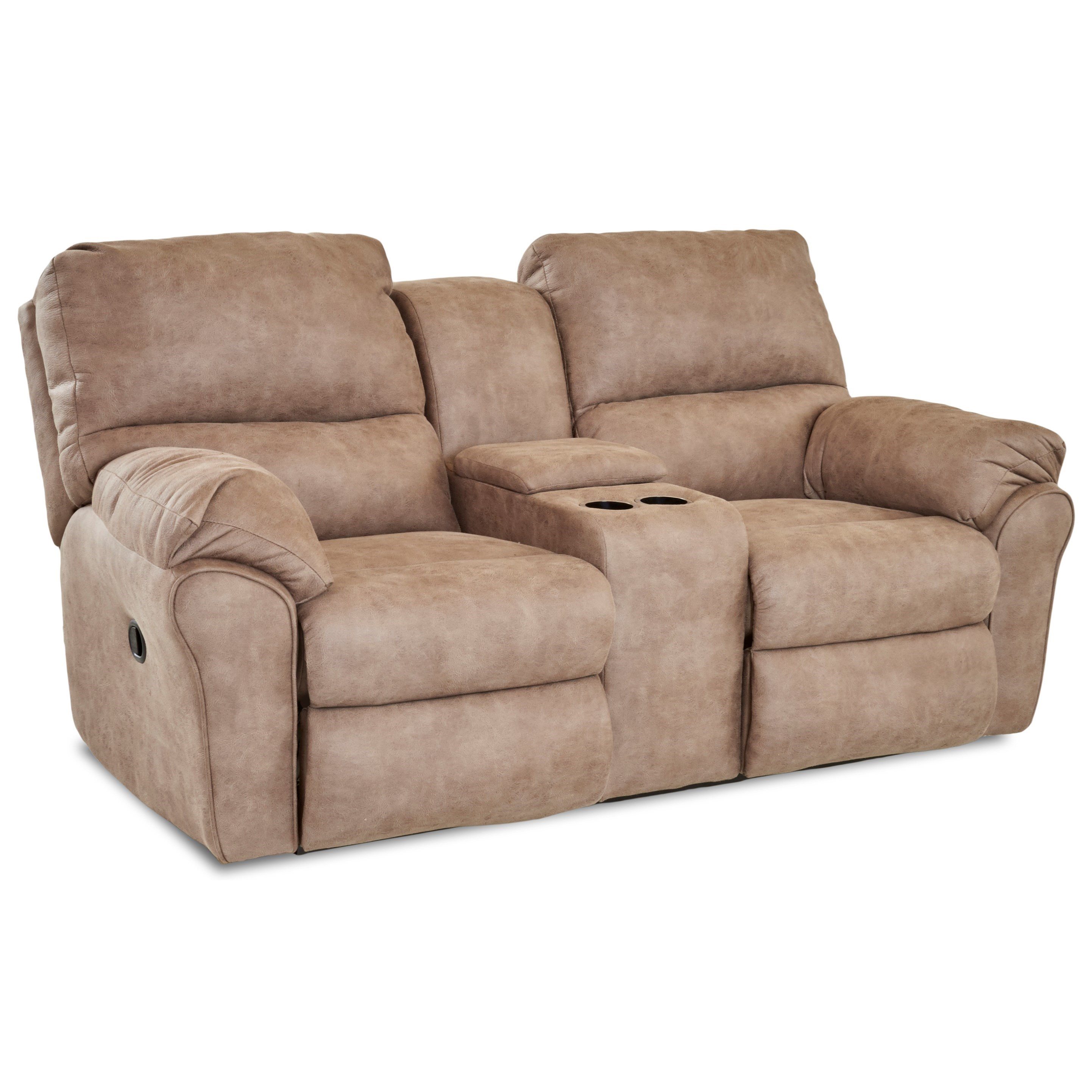 Bateman Leather Armchair: Klaussner Bateman Casual Power Reclining Loveseat With
