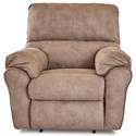 Klaussner Bateman Gliding Reclining Chair - Item Number: 64703H GLRC-DAVY CREAM