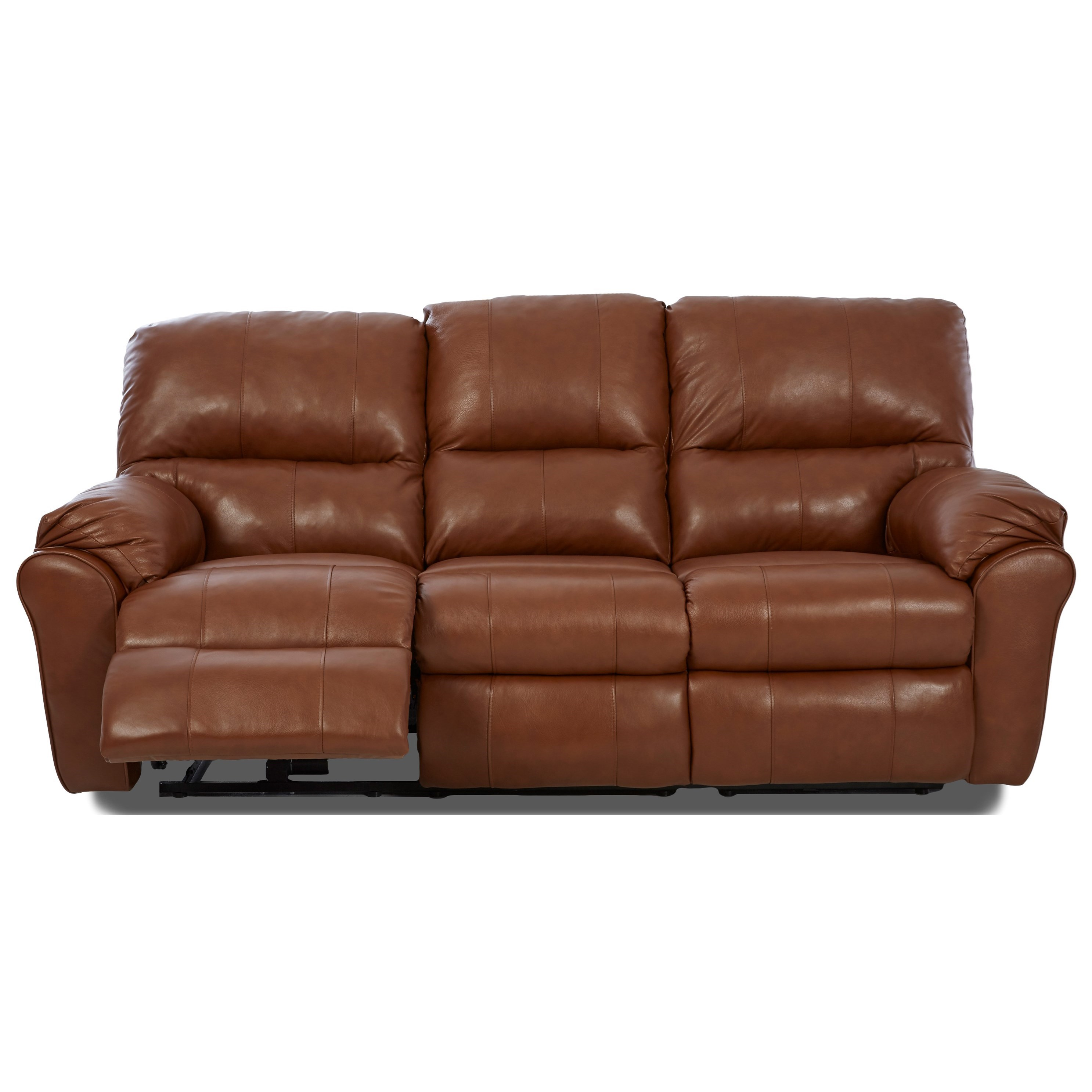 Klaussner Bateman Casual Reclining Sofa With 2 Power