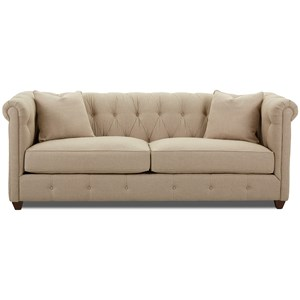 Traditional Chesterfield Sofa