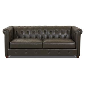 Klaussner Beech Mountain Traditional Chesterfield Sofa