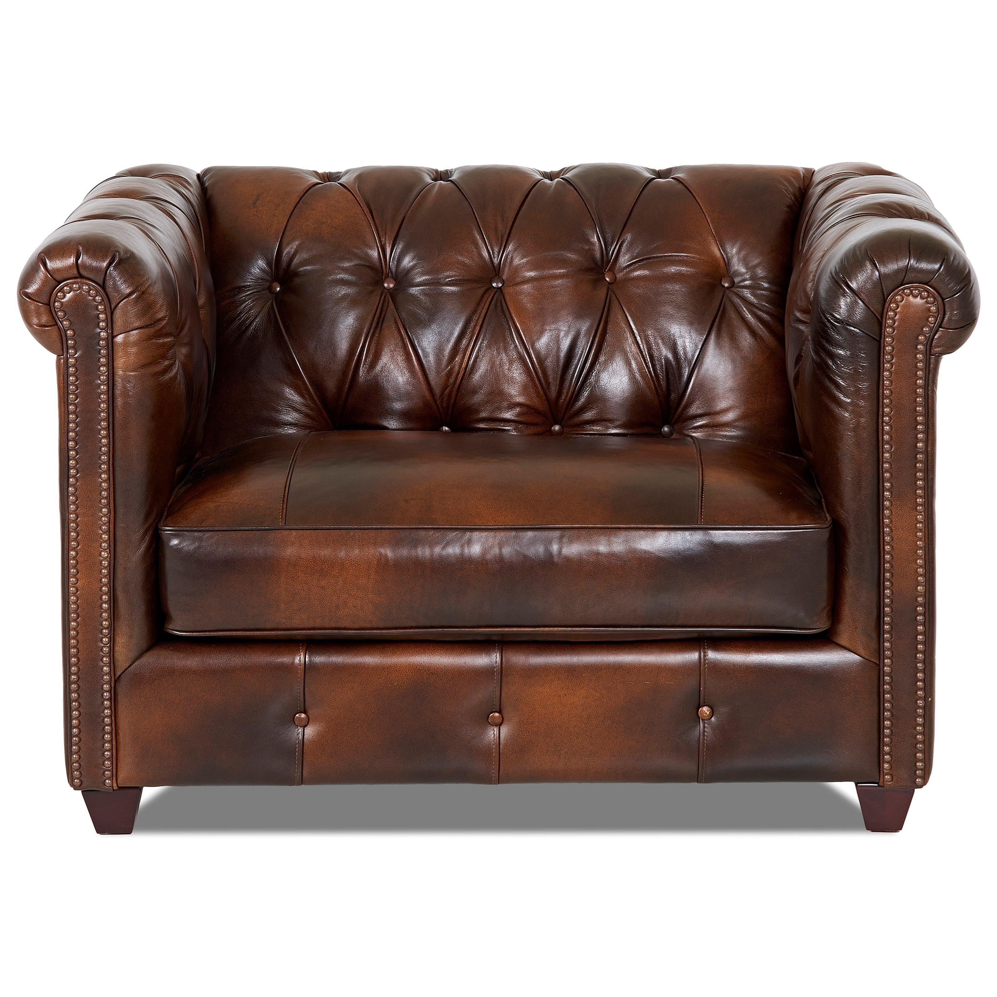 Big Chair with Nailhead Trim