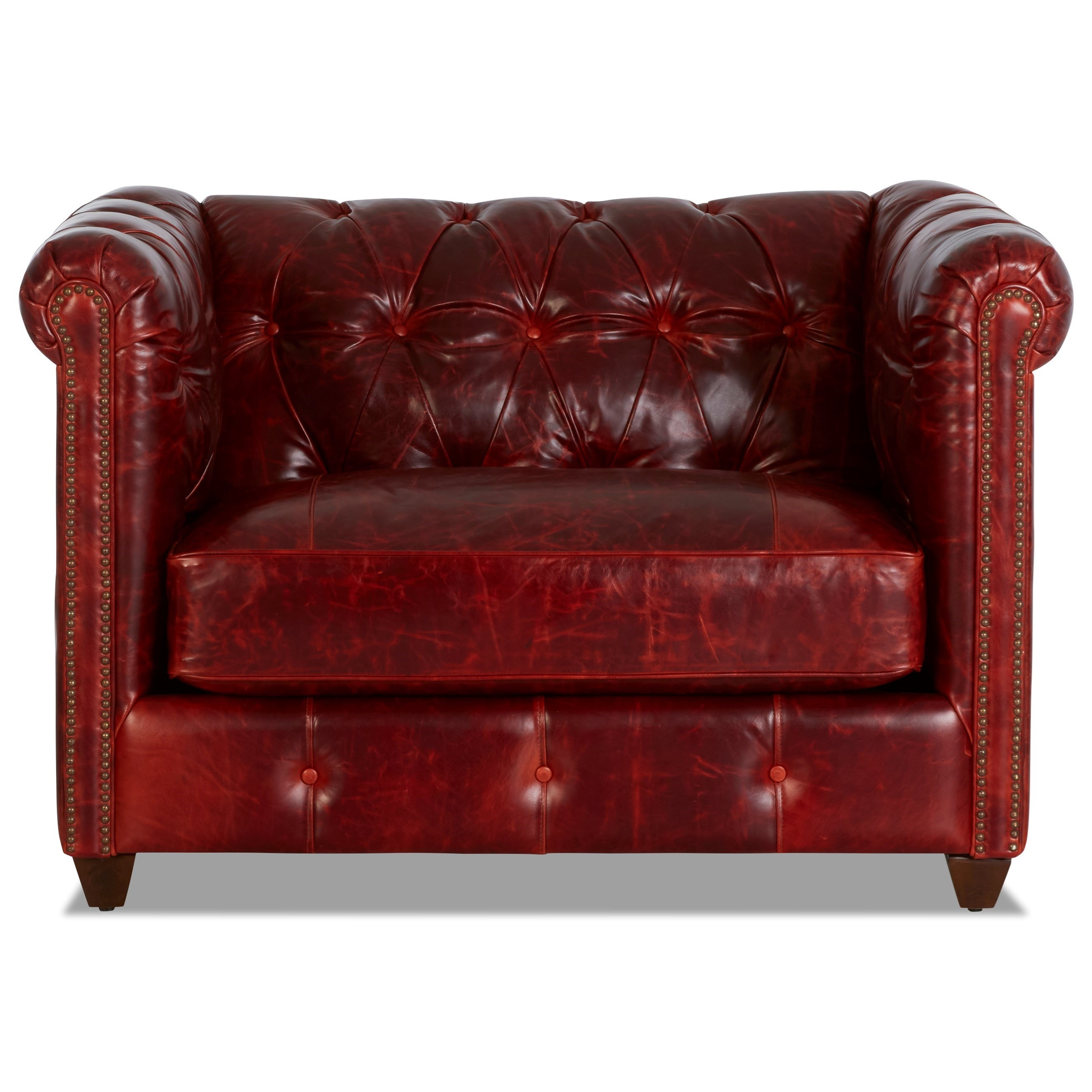 Big Chair with Nailhead Trim