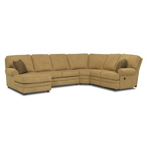 Klaussner Belleview Reclining Sectional
