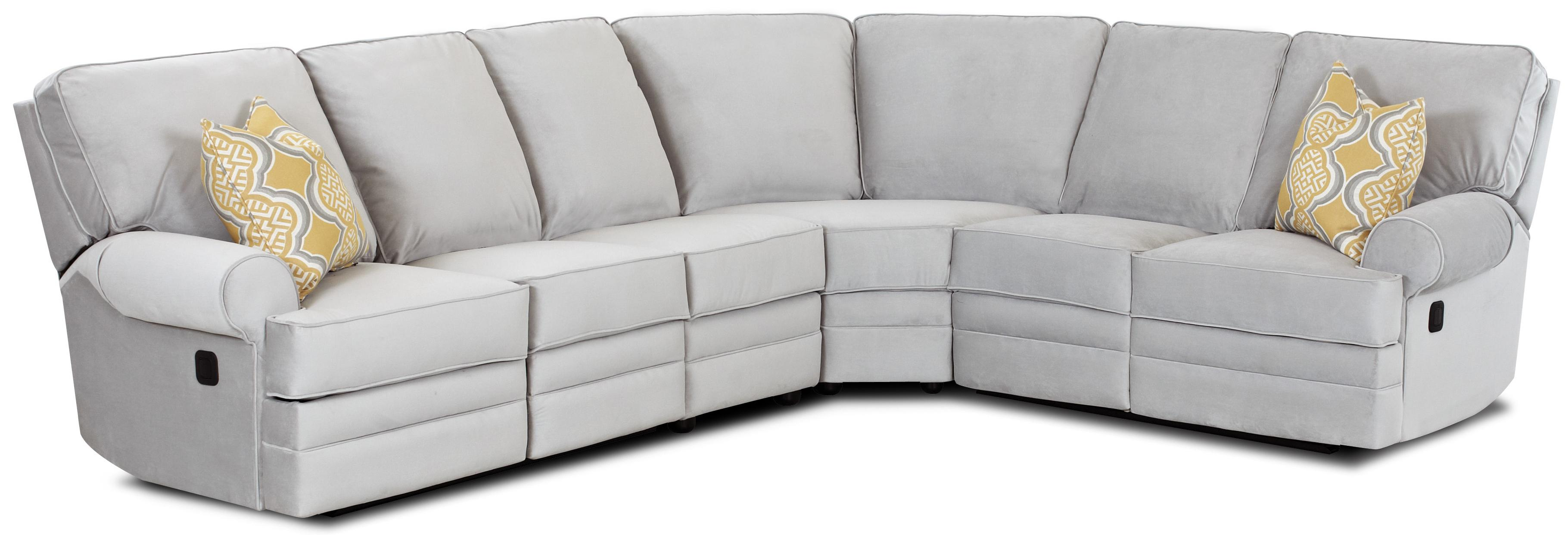 console sectional furniture contemporary design with reclining match leather recliner products couch ashley by sofa