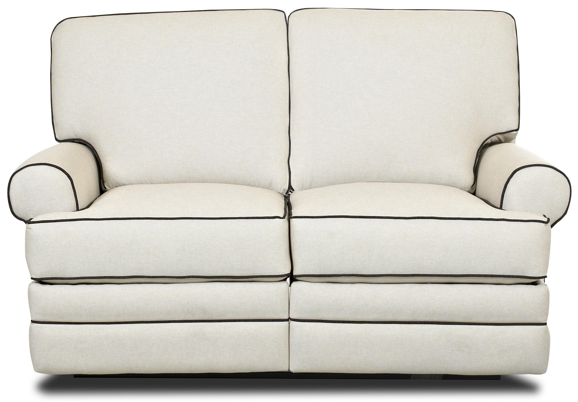 Klaussner Belleview Reclining Loveseat - Item Number 21303 RLS  sc 1 st  Value City Furniture & Klaussner Belleview Classic Reclining Loveseat with Rolled Arms ... islam-shia.org