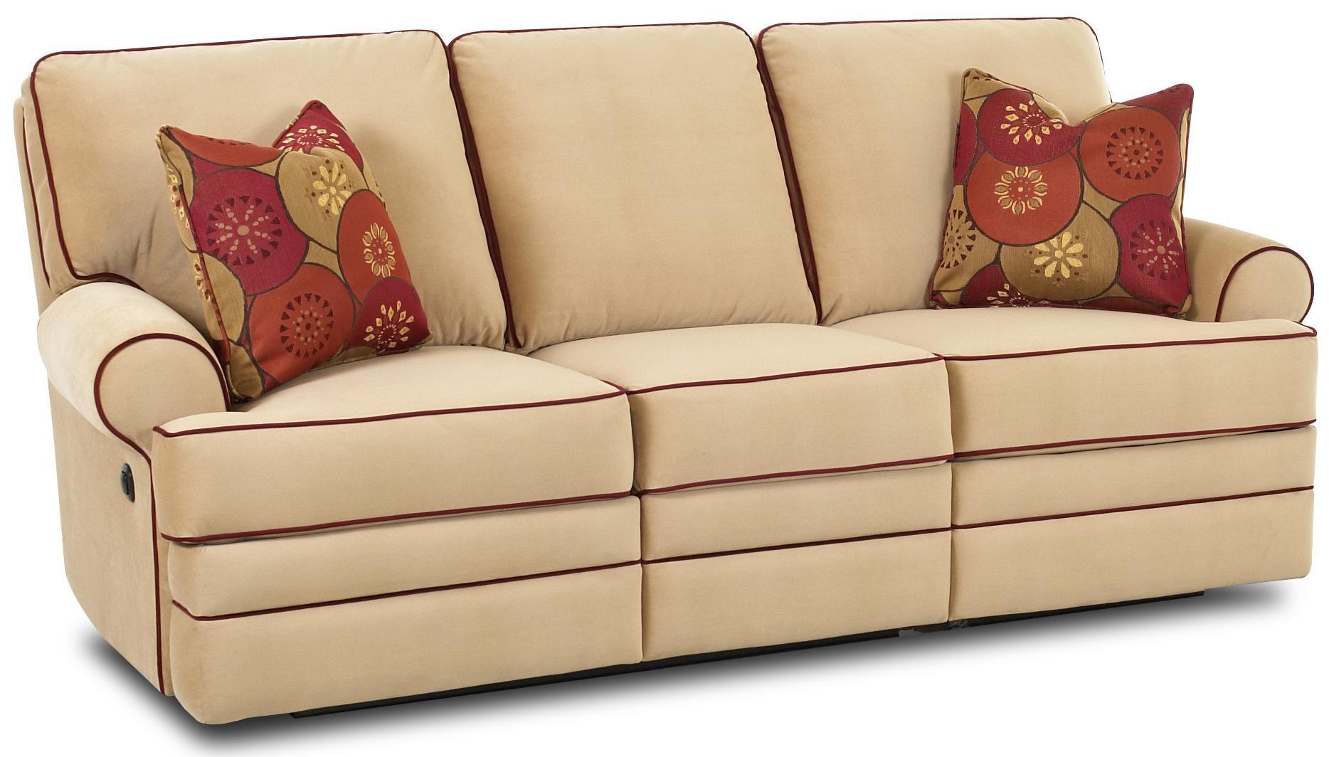 Belleview power dual reclining sofa by klaussner wolf furniture Loveseats that recline