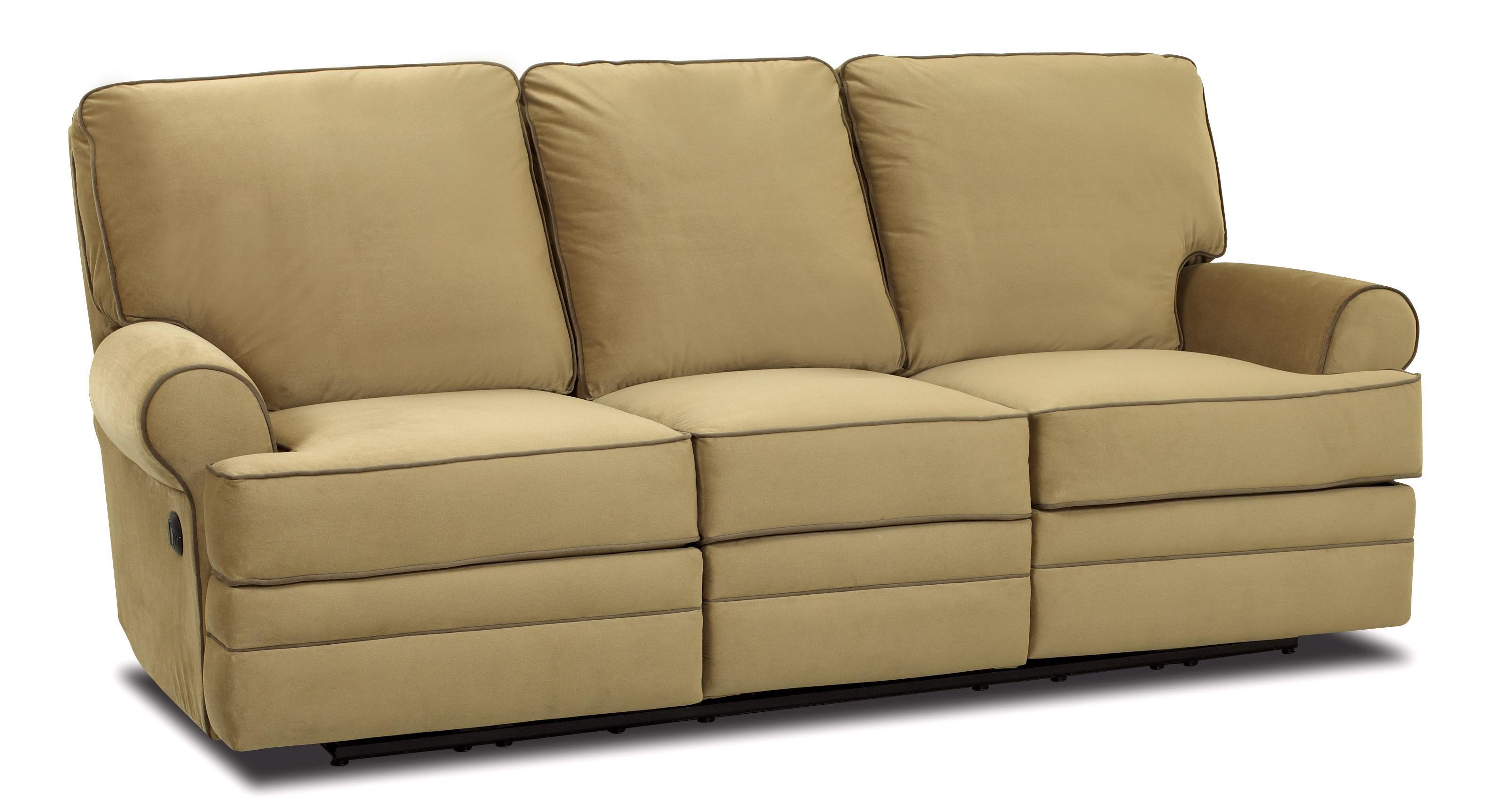 Klaussner Belleview Power Dual Reclining Sofa Darvin