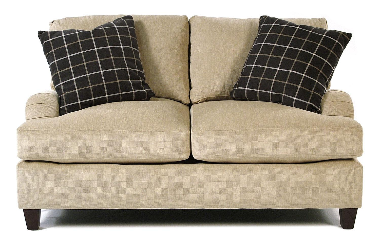 Simple Elegance Londoner Love Seat - Item Number: K13400 LS
