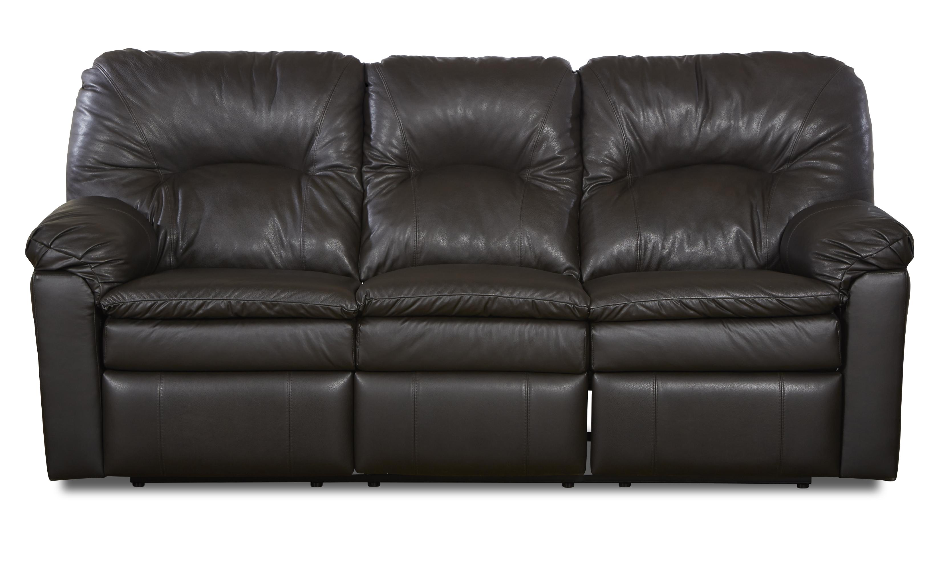 Klaussner Bennington Casual Power Reclining Sofa - Item Number: LV40703 PWRS