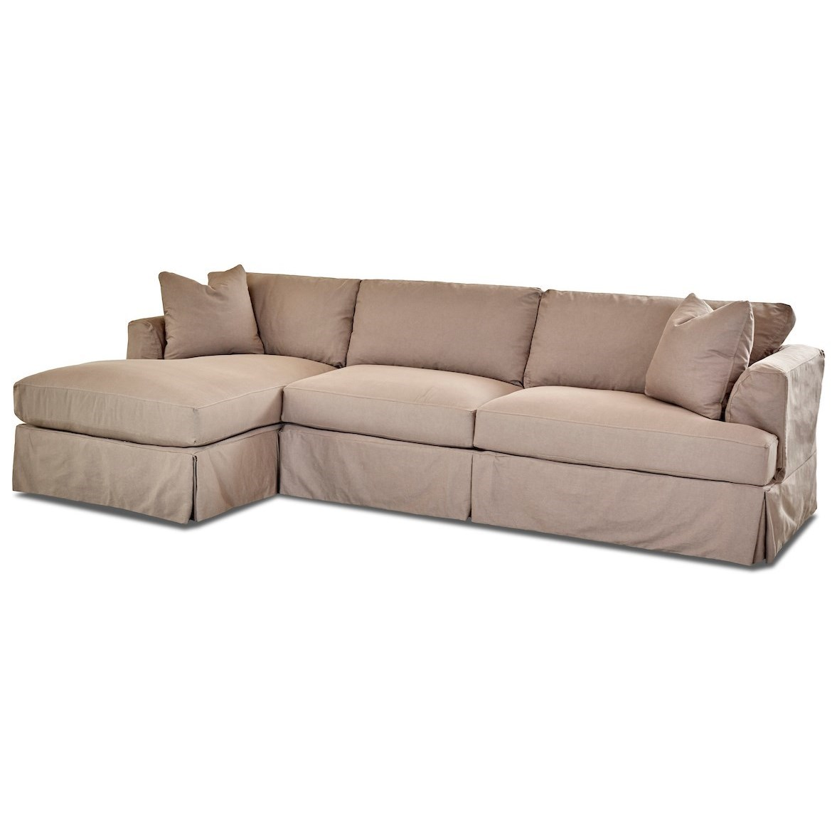 3-Seat Chaise Sofa Sectional w/ LAF Chaise