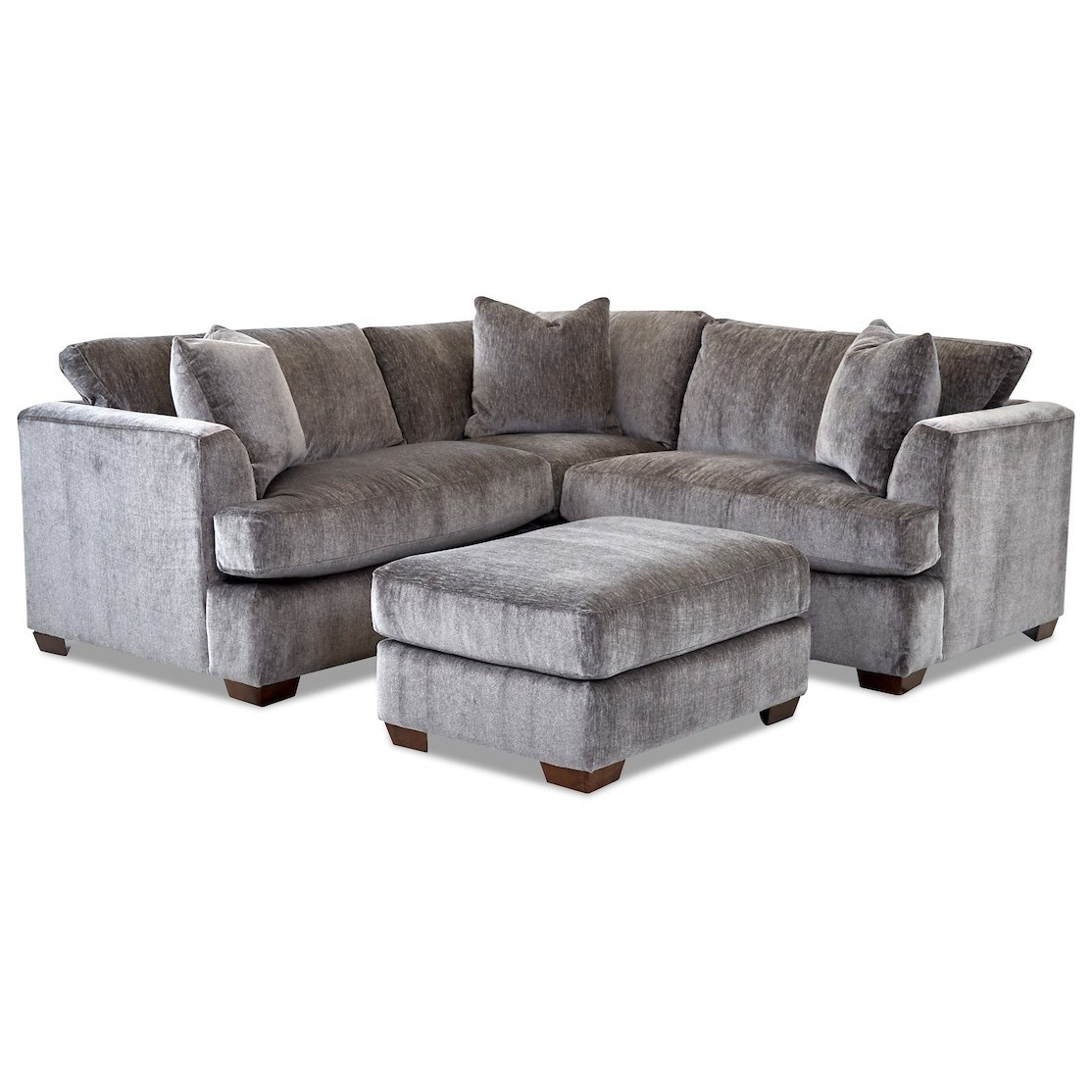 2-Seat Corner Sectional Sofa