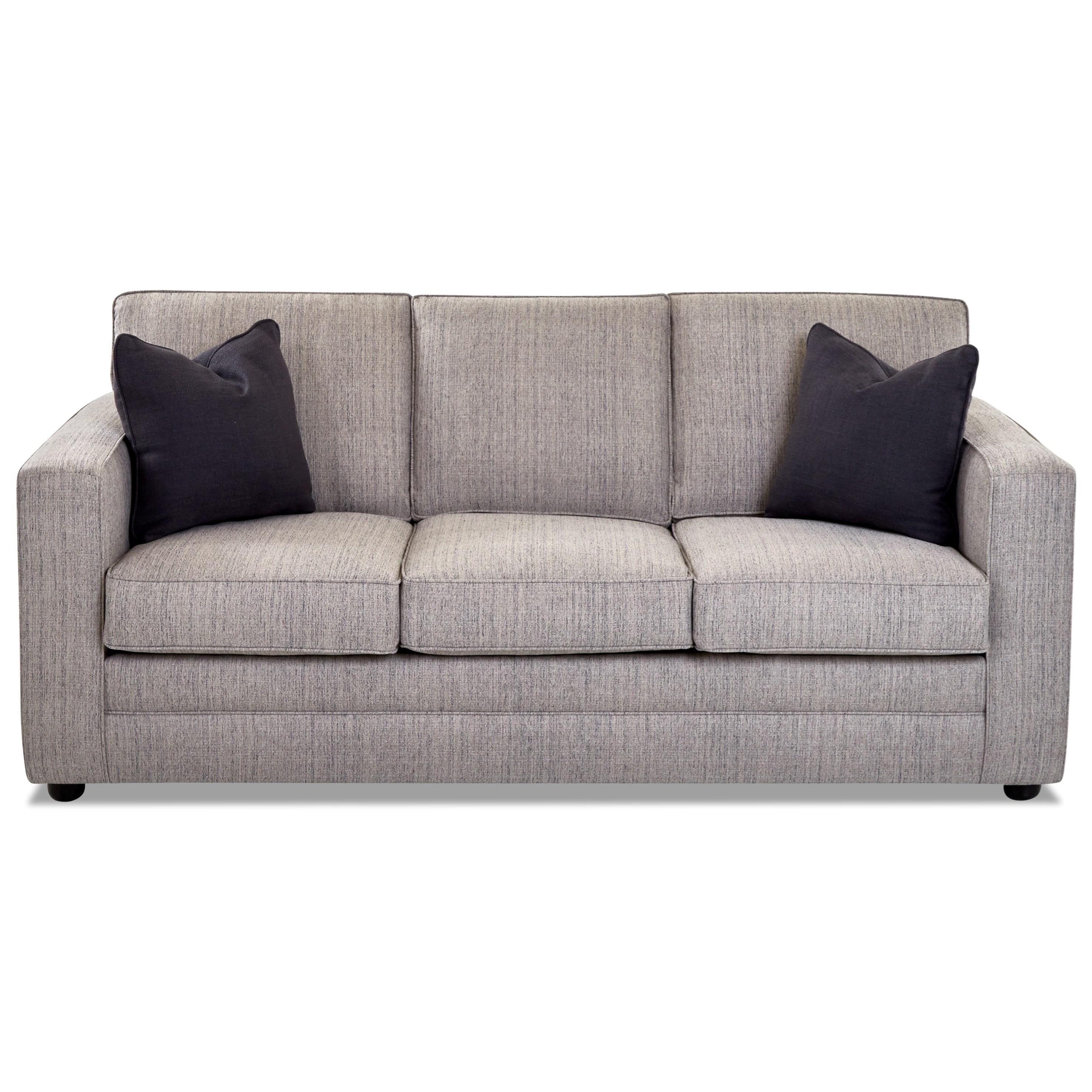 Berger Queen Sleeper w/ MemoryFoam Matt by Klaussner at Value City Furniture