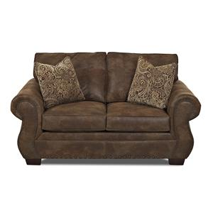 Elliston Place Blackburn Traditional Loveseat