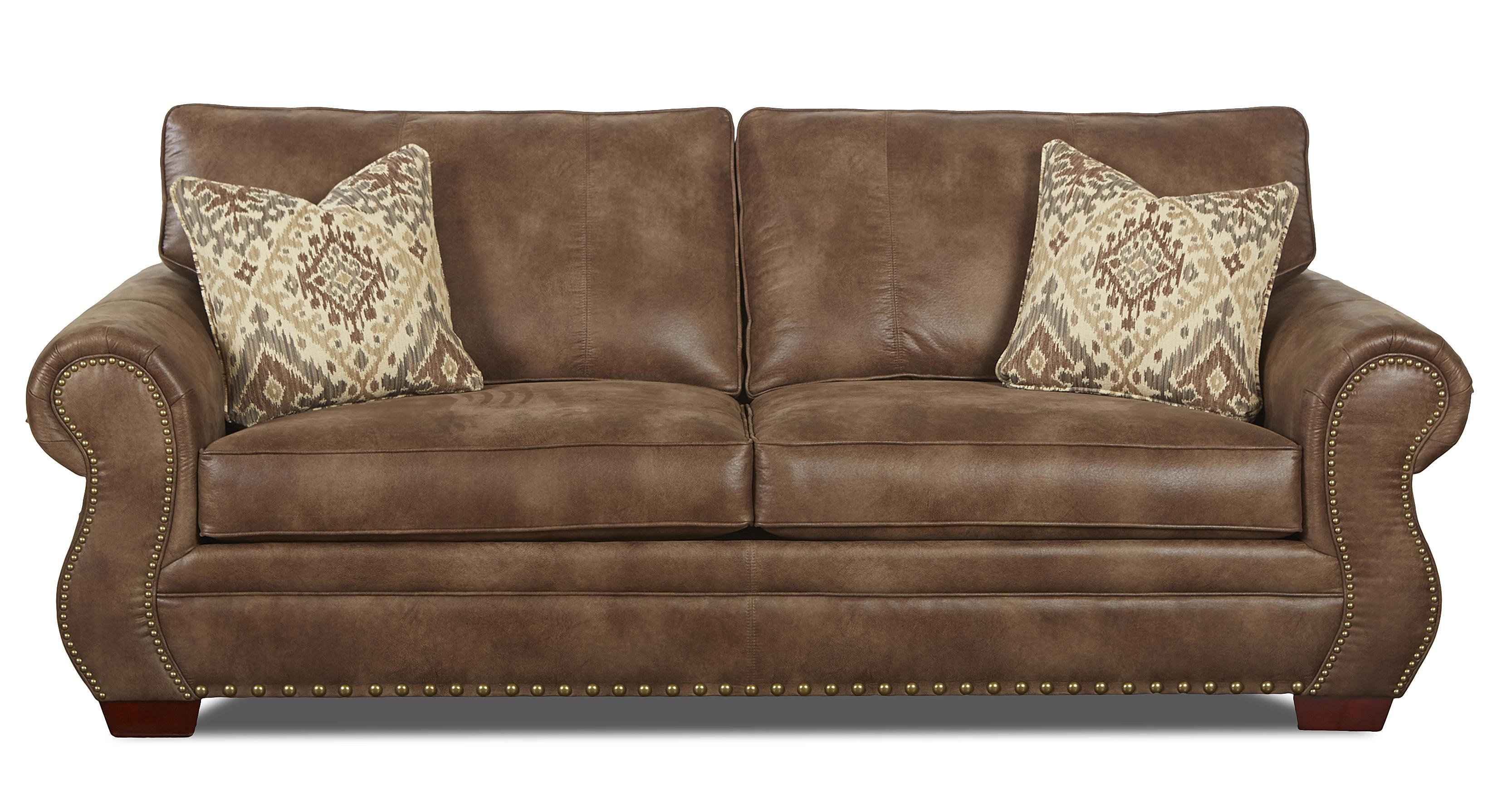 Klaussner Blackburn Traditional Sofa - Item Number: K14310 S-PadreTaupe