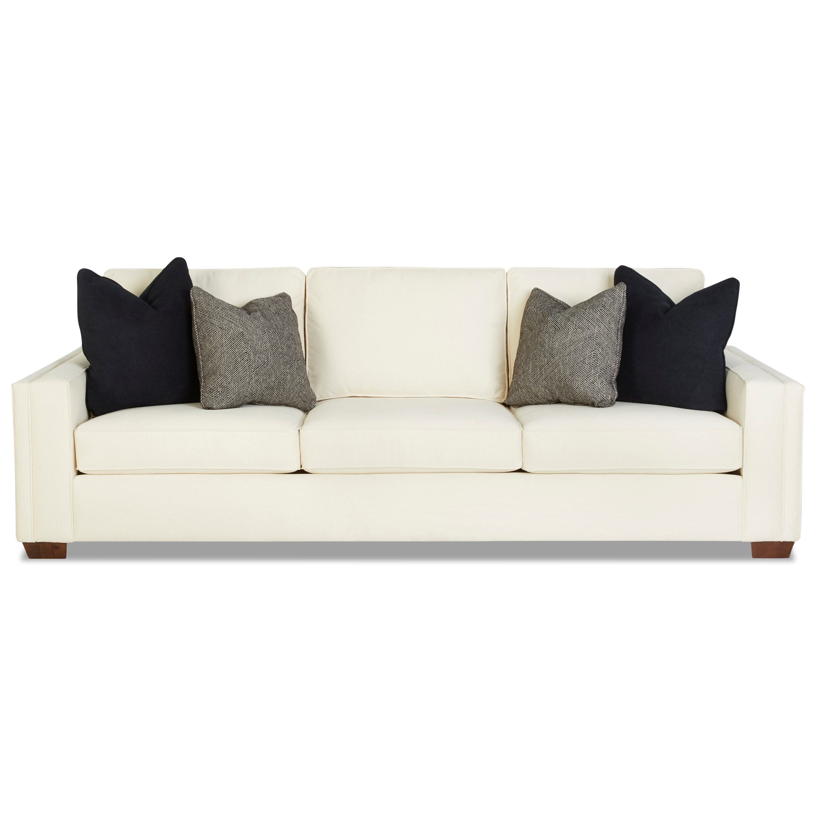 Boden Extra Large Sofa by Klaussner at Johnny Janosik