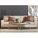 Klaussner Boden Extra Large Sofa with Kool Gel Cushions - Item Number: KG28700 XS-Ezra Rice