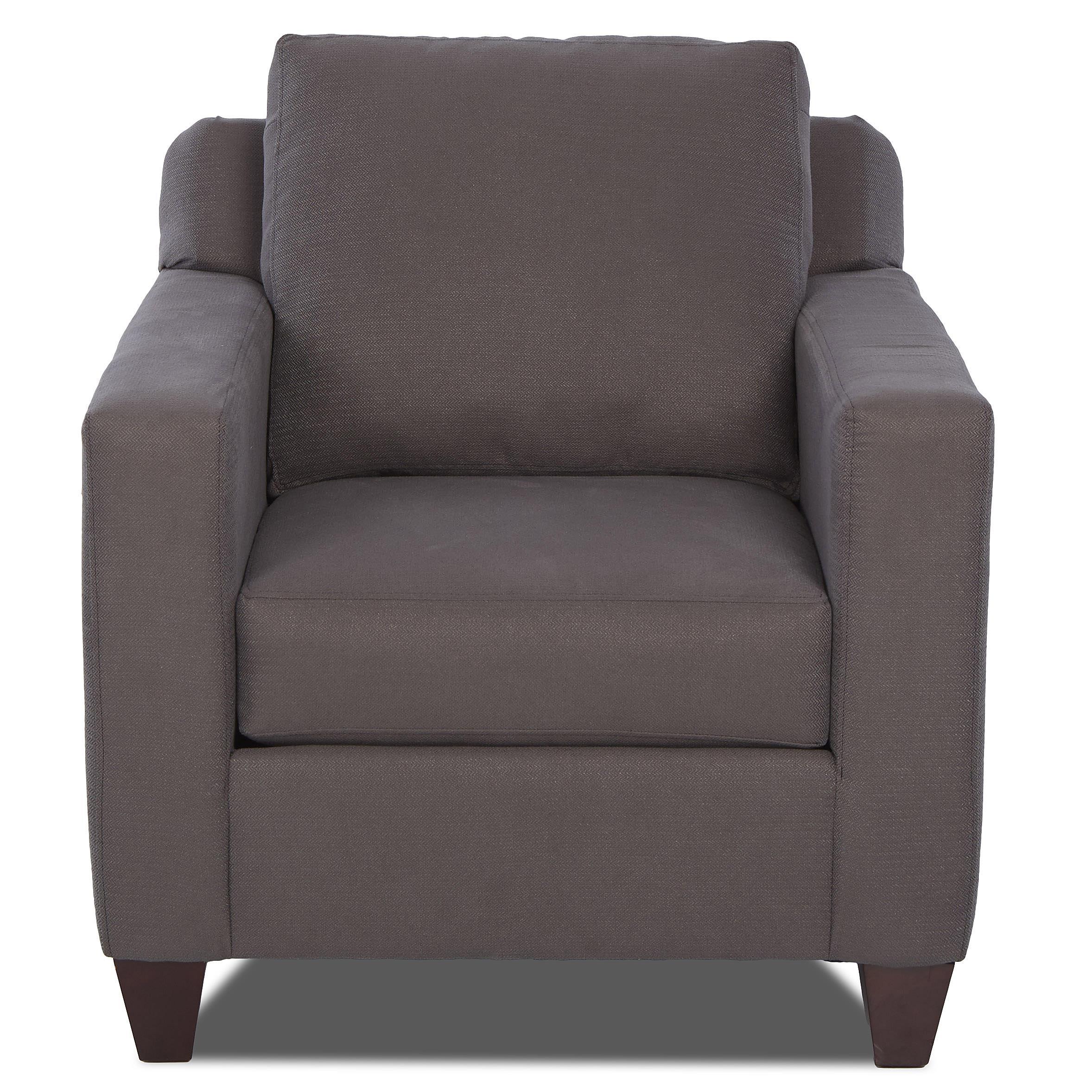 Klaussner Bosco Chair - Item Number: K51600 C-MacySmoke