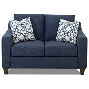 Klaussner Bosco Love Seat  sc 1 st  Darvin Furniture : bassett alex sectional - Sectionals, Sofas & Couches