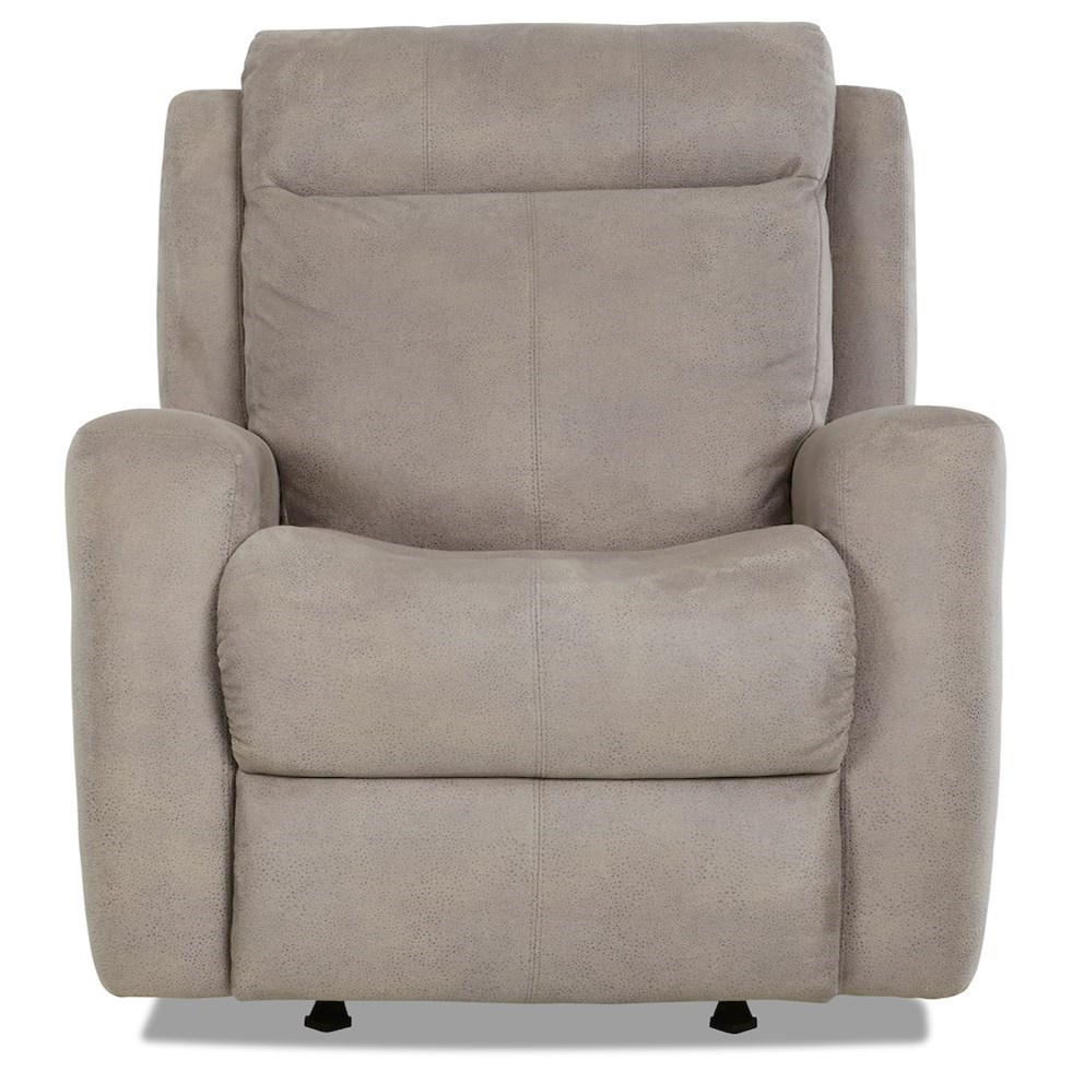 Bounty Swivel Rocking Reclining Chair by Klaussner at Northeast Factory Direct