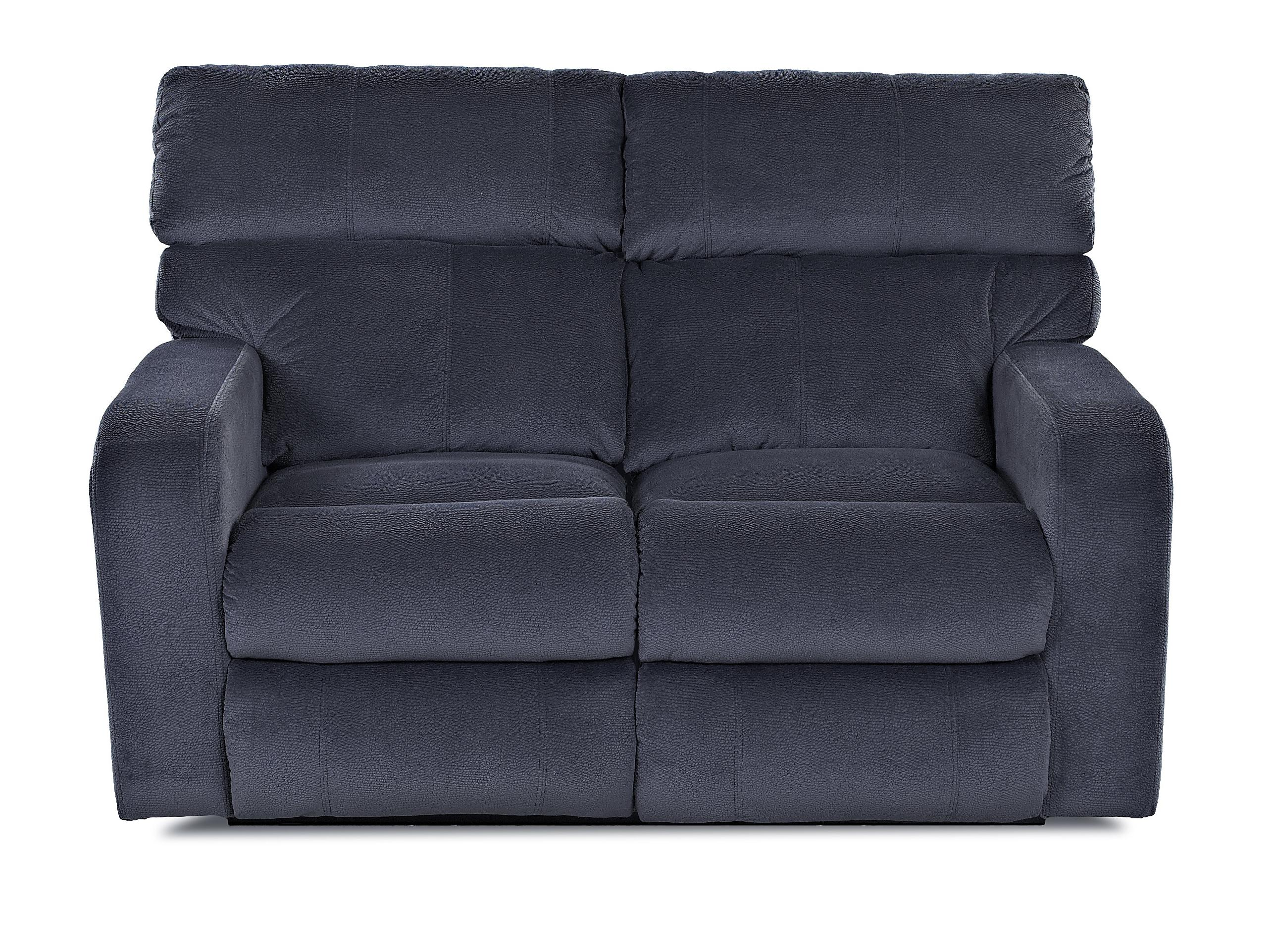 Klaussner Bradford Casual Reclining Loveseat - Item Number: 40203 RLS