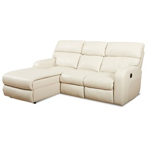 Power Reclining Chaise Sofa w/ LAF Chaise