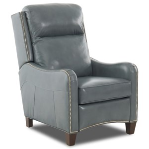 Power High Leg Recliner w/ Pwr Head & Nails