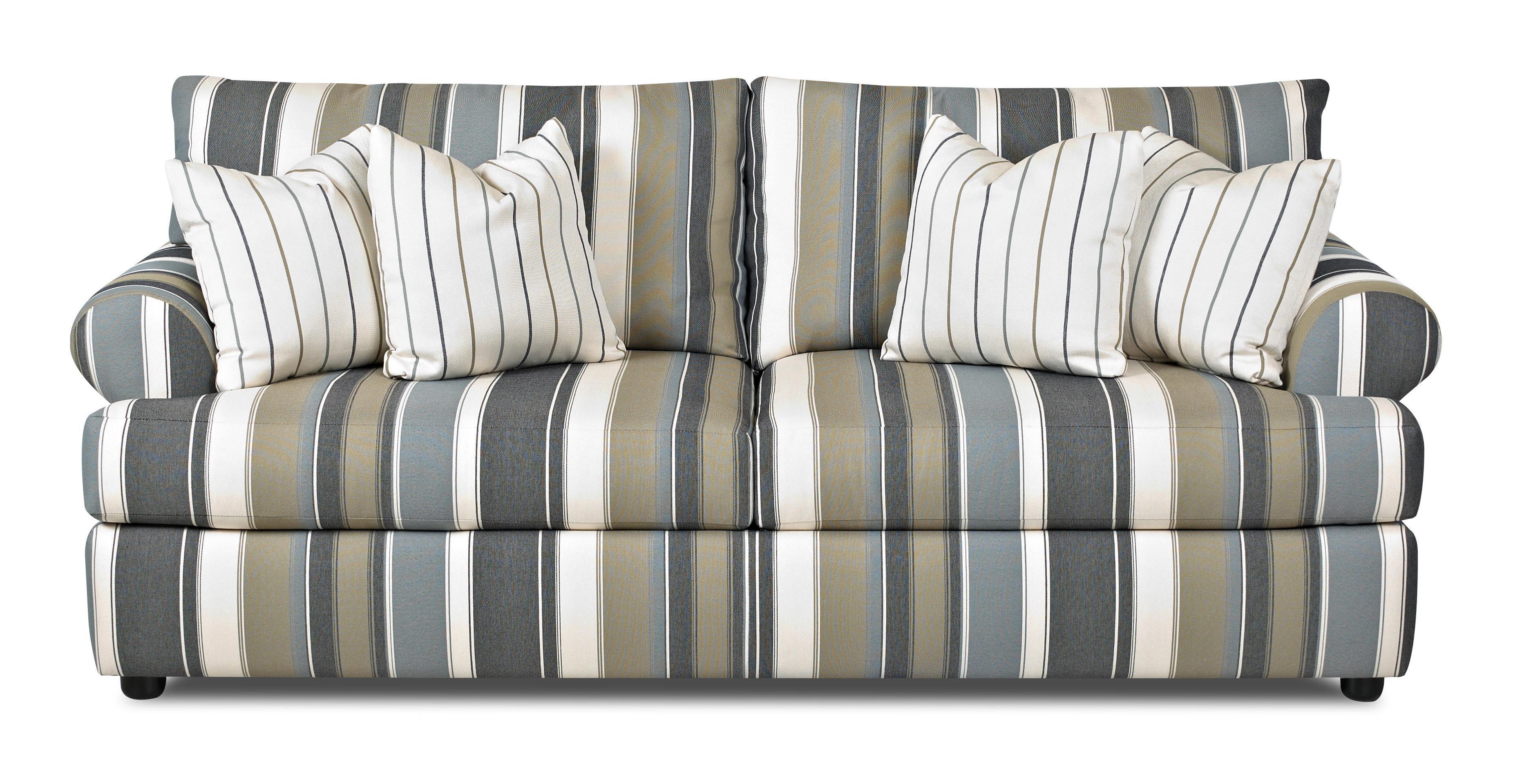 Klaussner Briggs 2-Over-2 Sofa - Item Number: K50600 S