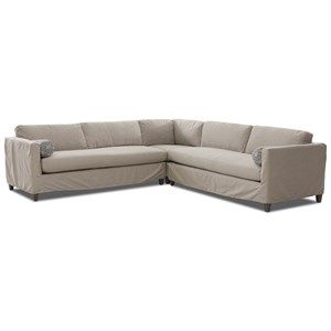 3-Piece Slipcover Sectional