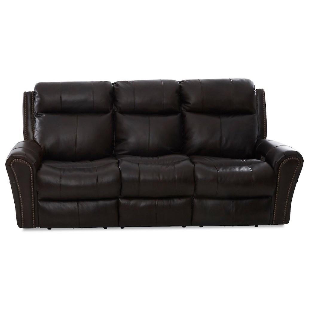 Pwr Recline Sofa w/ Pwr Headrest/Lumbar