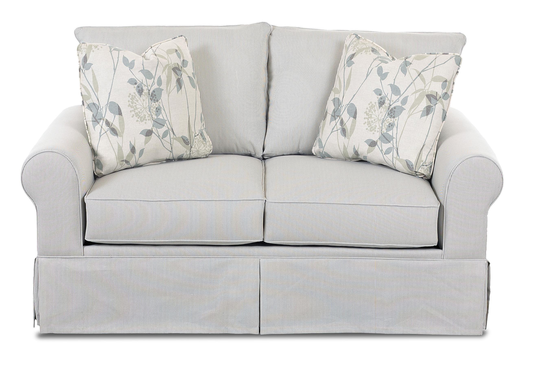 Klaussner Brook Upholstered Loveseat - Item Number: 8200 LS