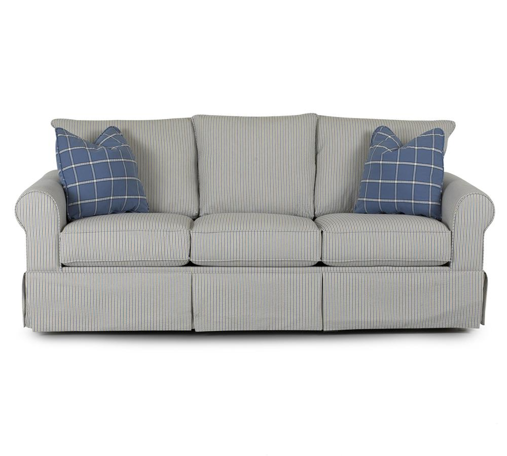 Klaussner Brook Stationary Sofa - Item Number: 8200 S
