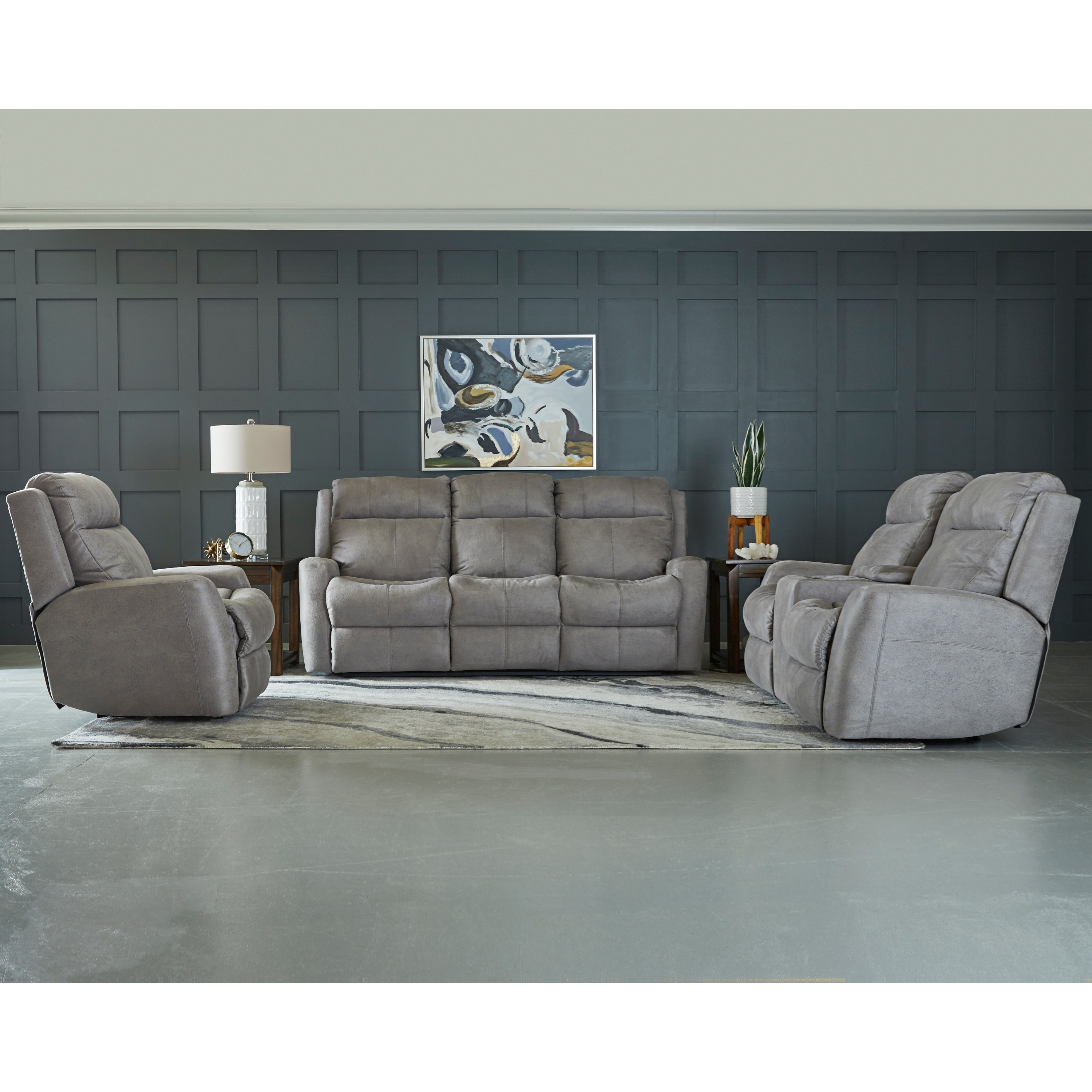 Brooks Reclining Living Room Group by Klaussner at Johnny Janosik