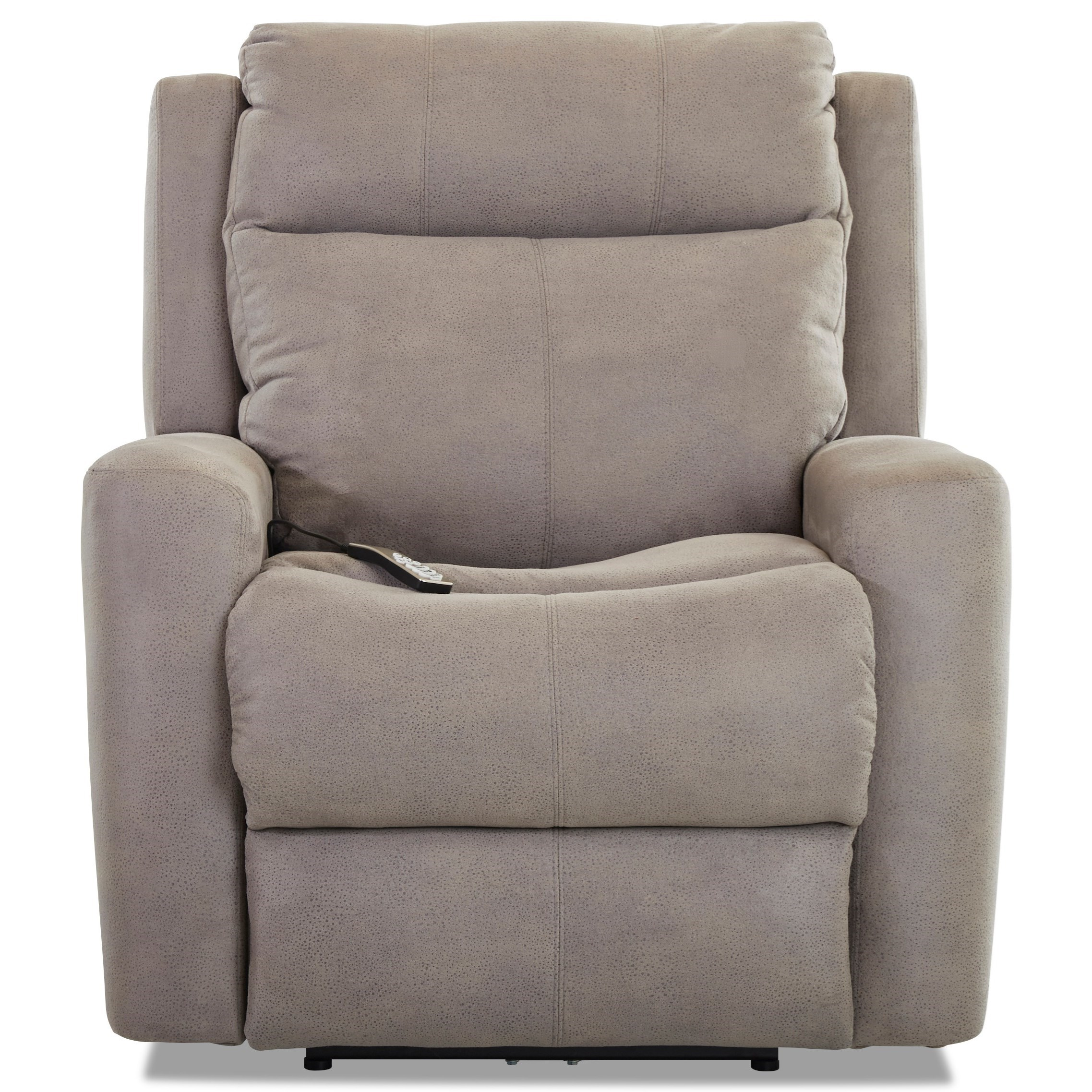 Brooks Power Recliner w/ Pwr Headrest & Massage by Klaussner at Johnny Janosik