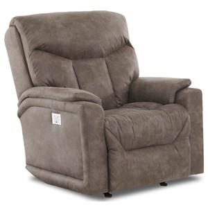 Klaussner Bugatti Power Reclining Chair w/ Pwr Head & Lumbar
