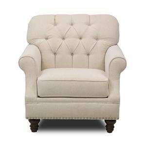 Metropia Barrington Chair w/ Nailheads