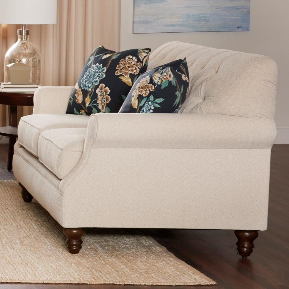 Burbank Loveseat by Klaussner at Johnny Janosik