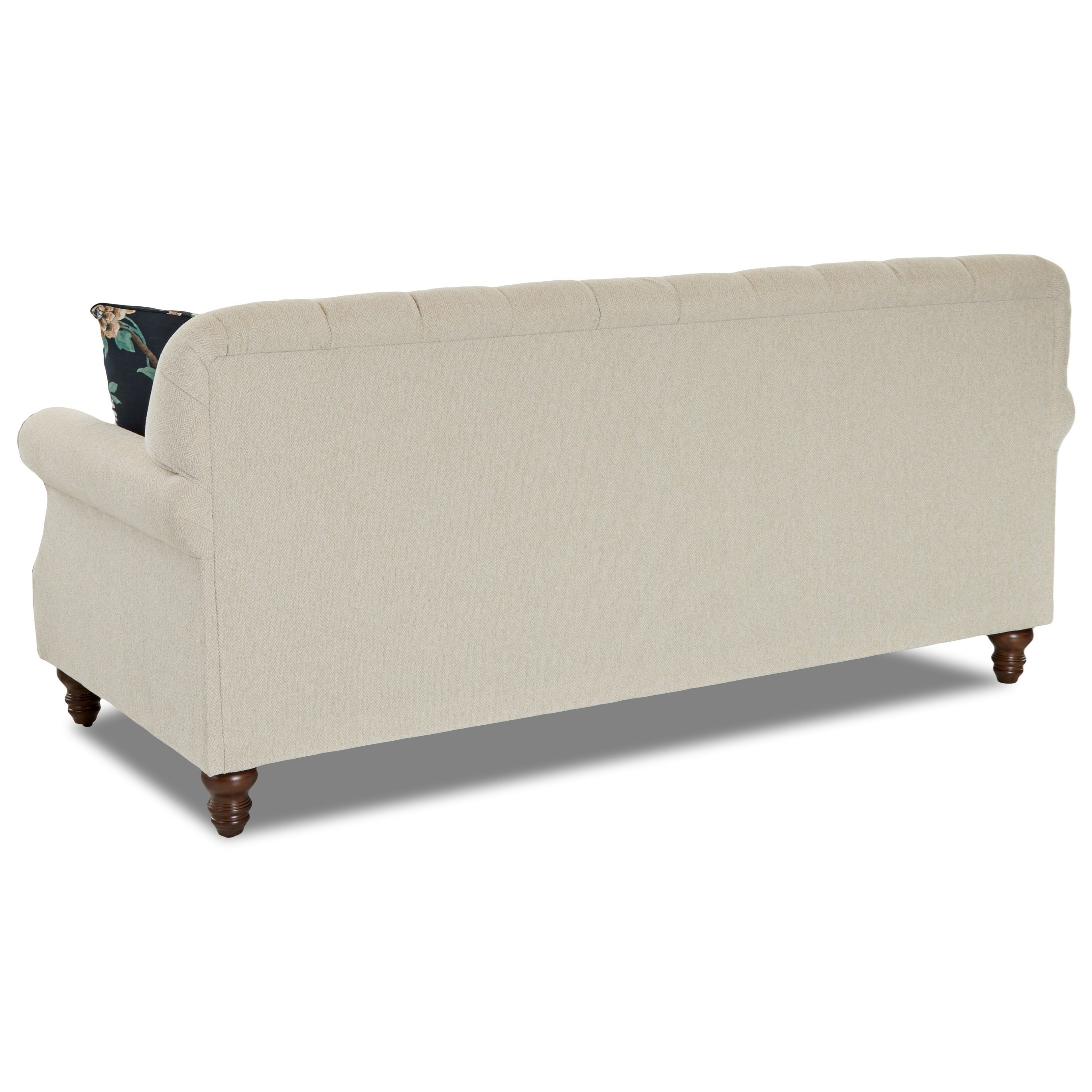 Ashley Furniture In Burbank: Klaussner Burbank K96800 S Traditional Tufted Apartment