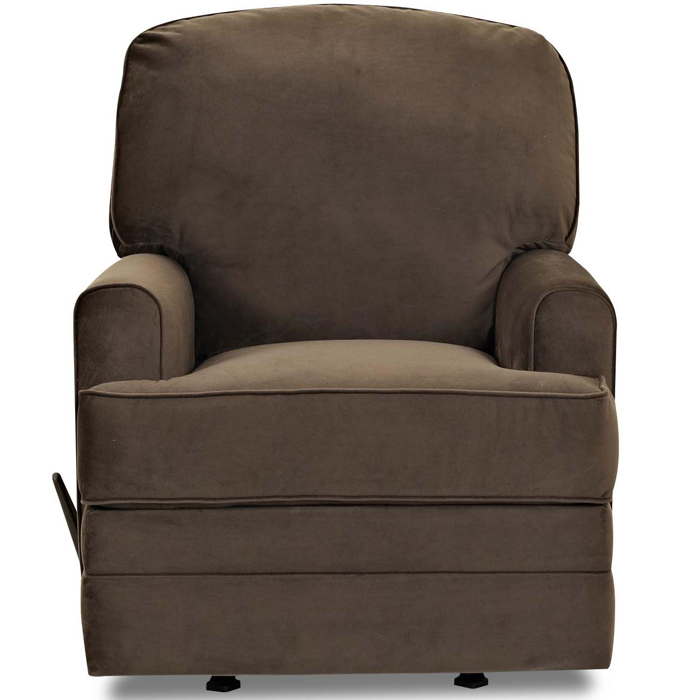Casual Swivel Rocking Recliner