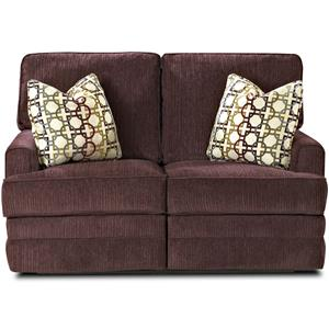Klaussner Callahan Casual PowerReclining Love Seat with Pillows