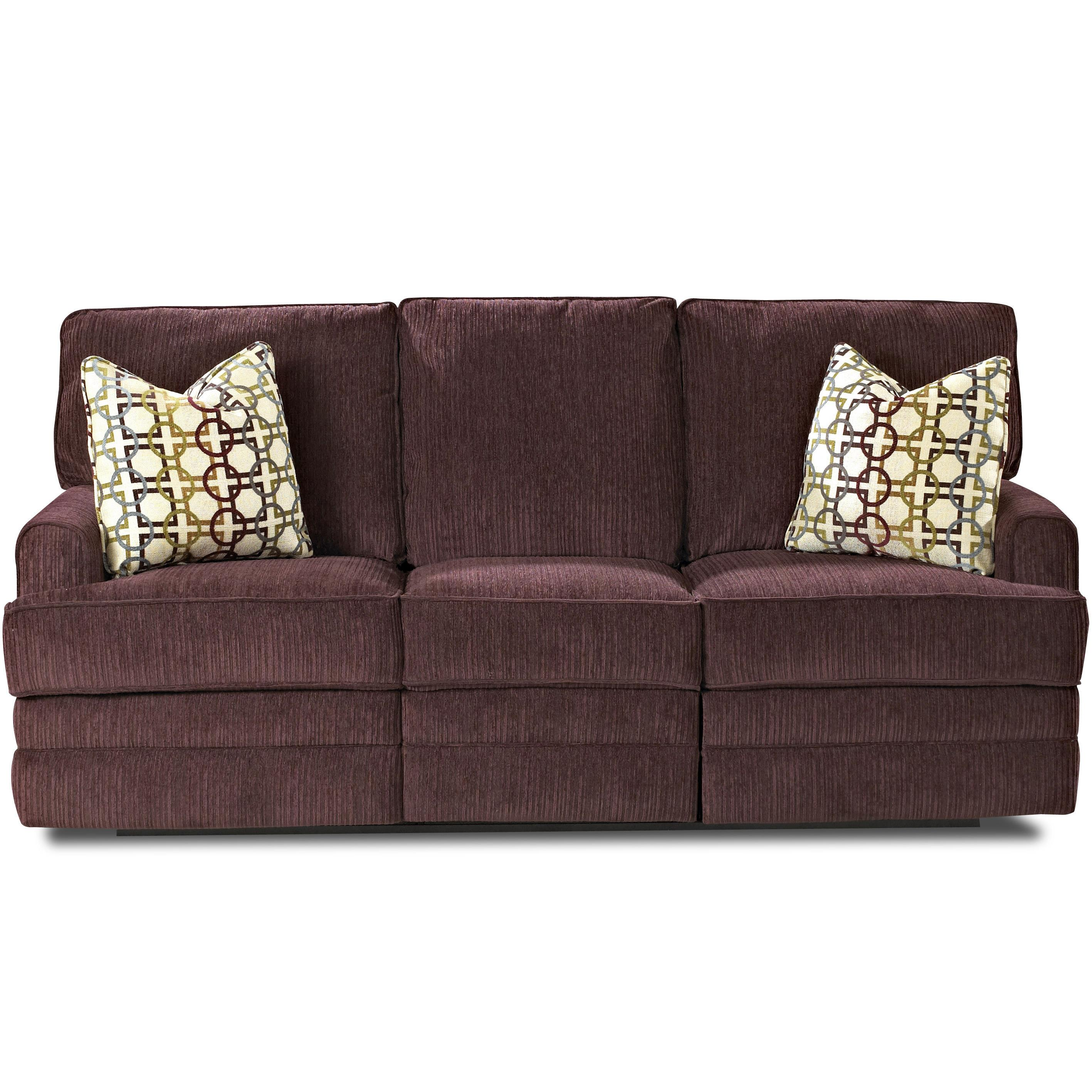 Klaussner Callahan Casual Reclining Sofa with Track Arms  : products2Fklaussner2Fcolor2Fcallahan20788037880320rs korey20eggplant b0 from www.suburbanfurniture.com size 2834 x 2834 jpeg 790kB