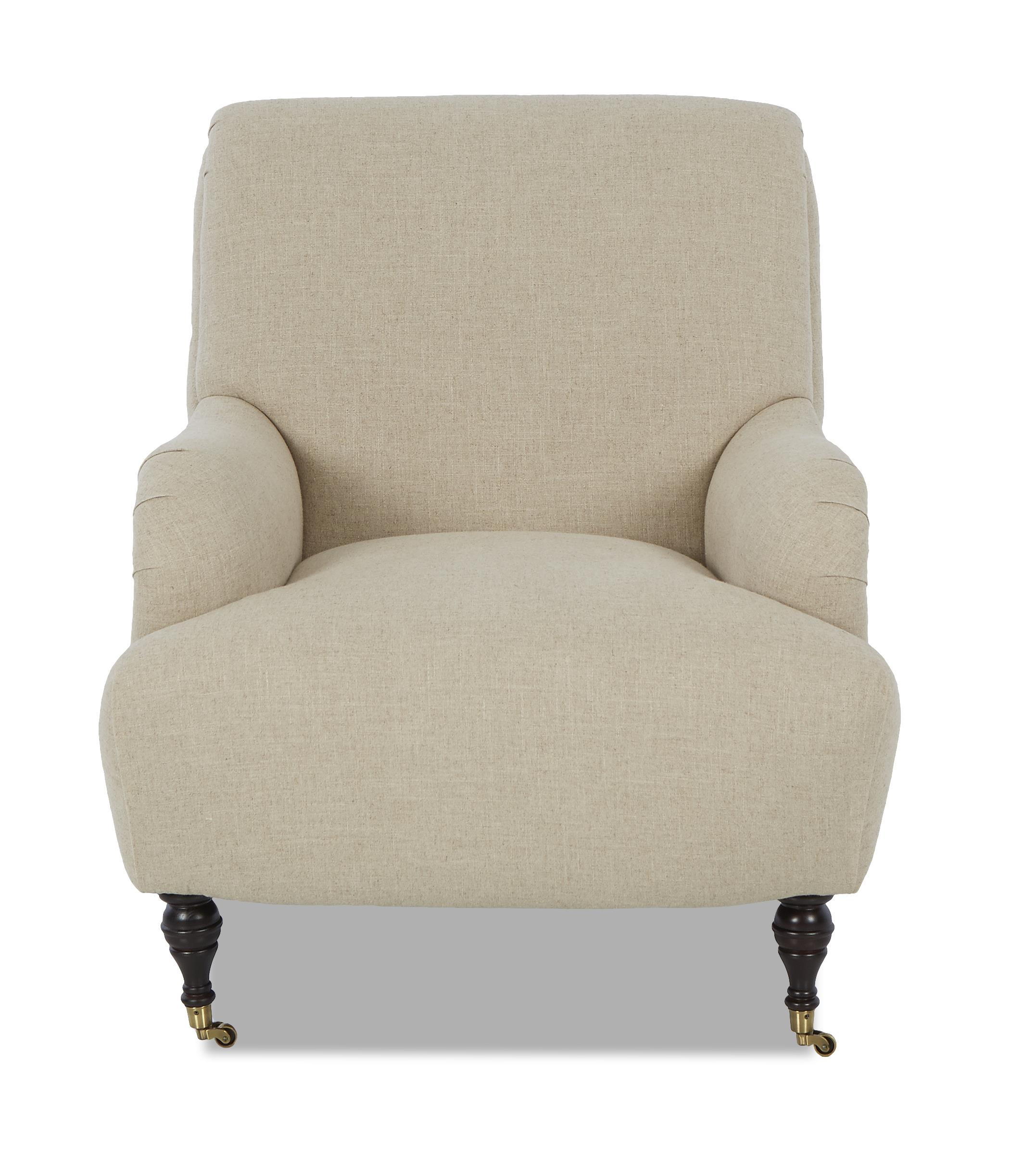 Klaussner Cameron Traditional Accent Chair - Item Number: K4000 OC-StudioNatural
