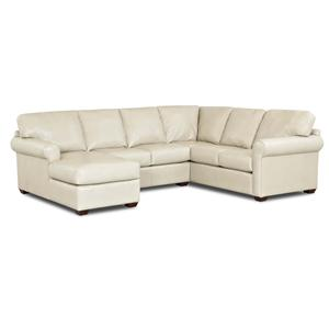 Klaussner Canoy Three Piece Sectional Sofa