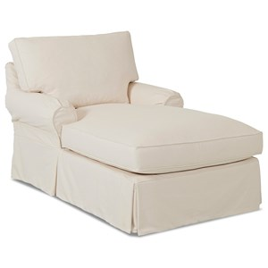 Chaise with Slipcover