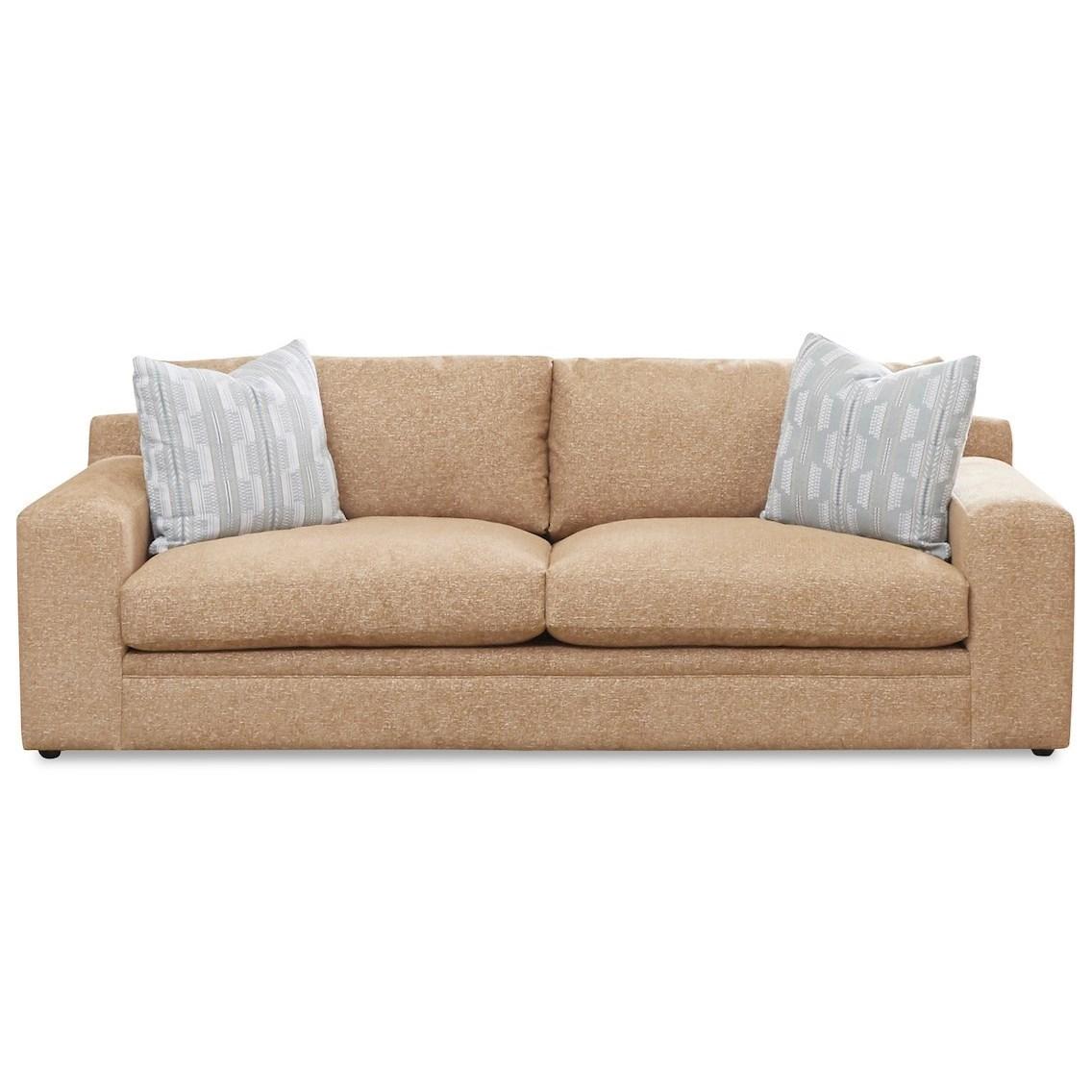 Casa Mesa Sofa by Klaussner at Johnny Janosik