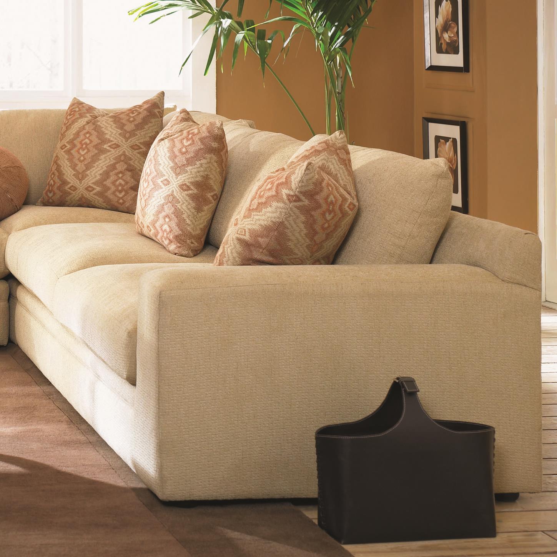 Klaussner Casa Mesa Love Seat - Item Number: D19500R LS-BurdonBuff