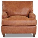 Klaussner Cassio Contemporary Leather Chair