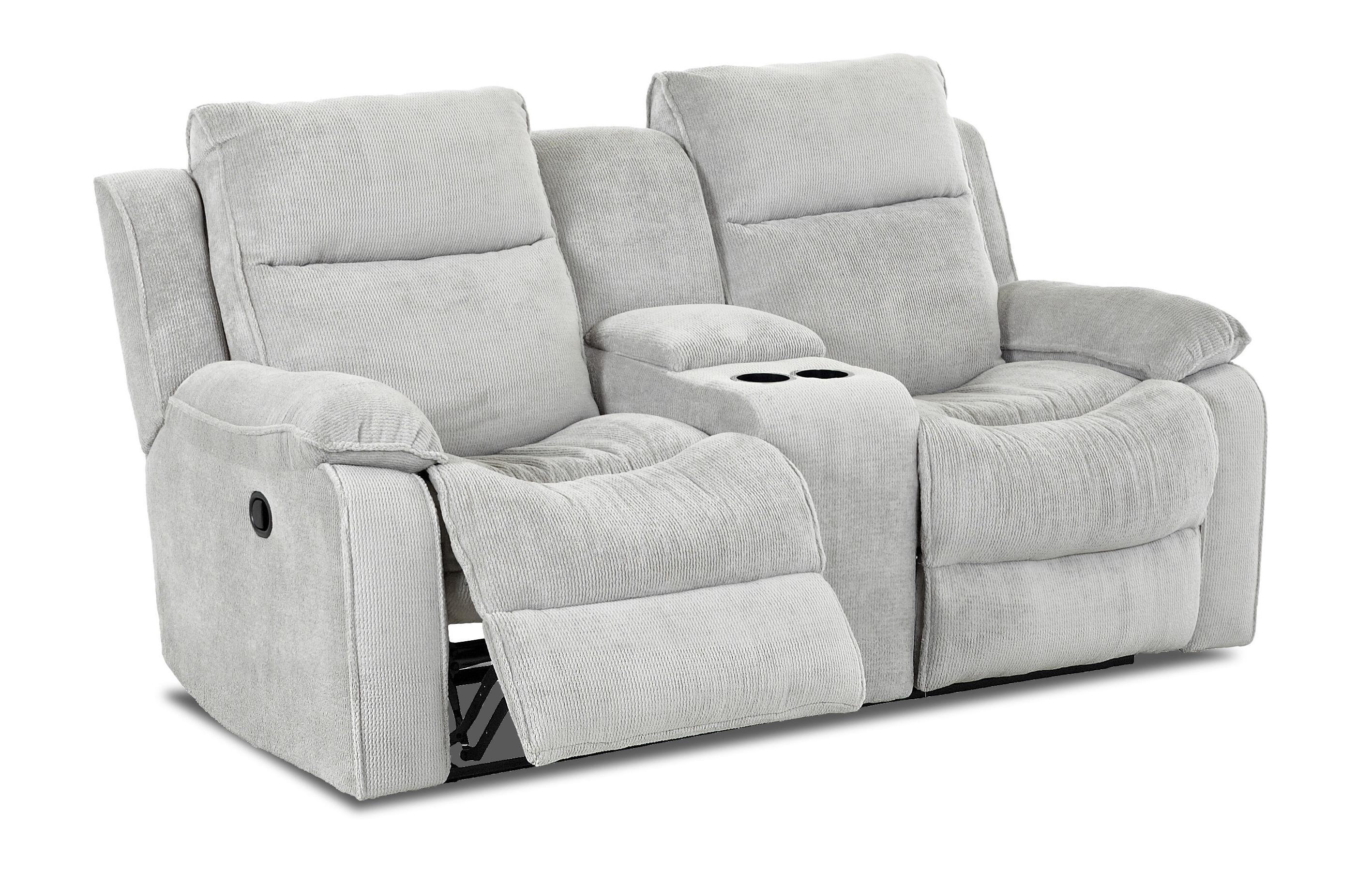 Castaway Casual Power Reclining Loveseat With Console By Klaussner Wolf Furniture