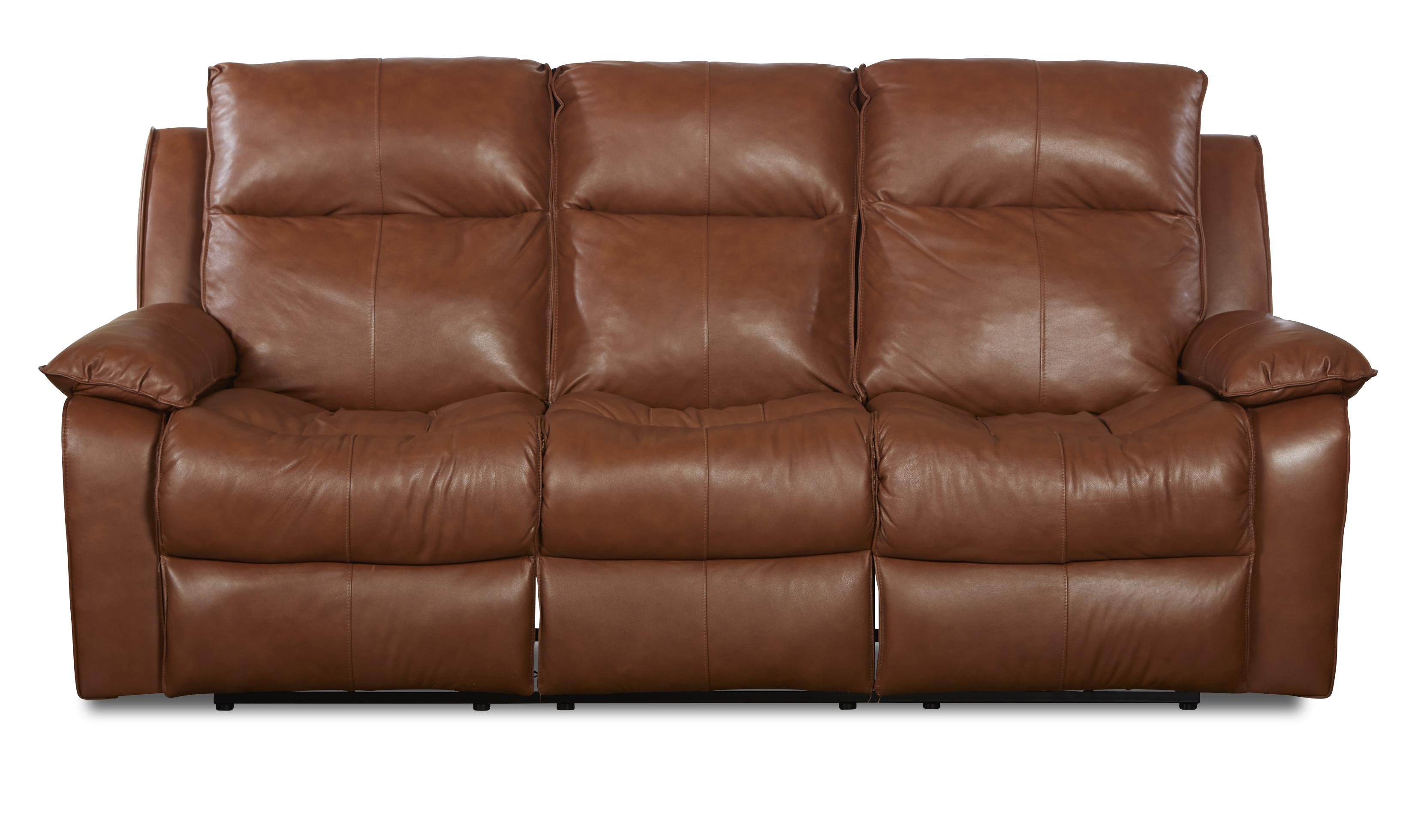Castaway Casual Reclining Sofa by Klaussner at Northeast Factory Direct