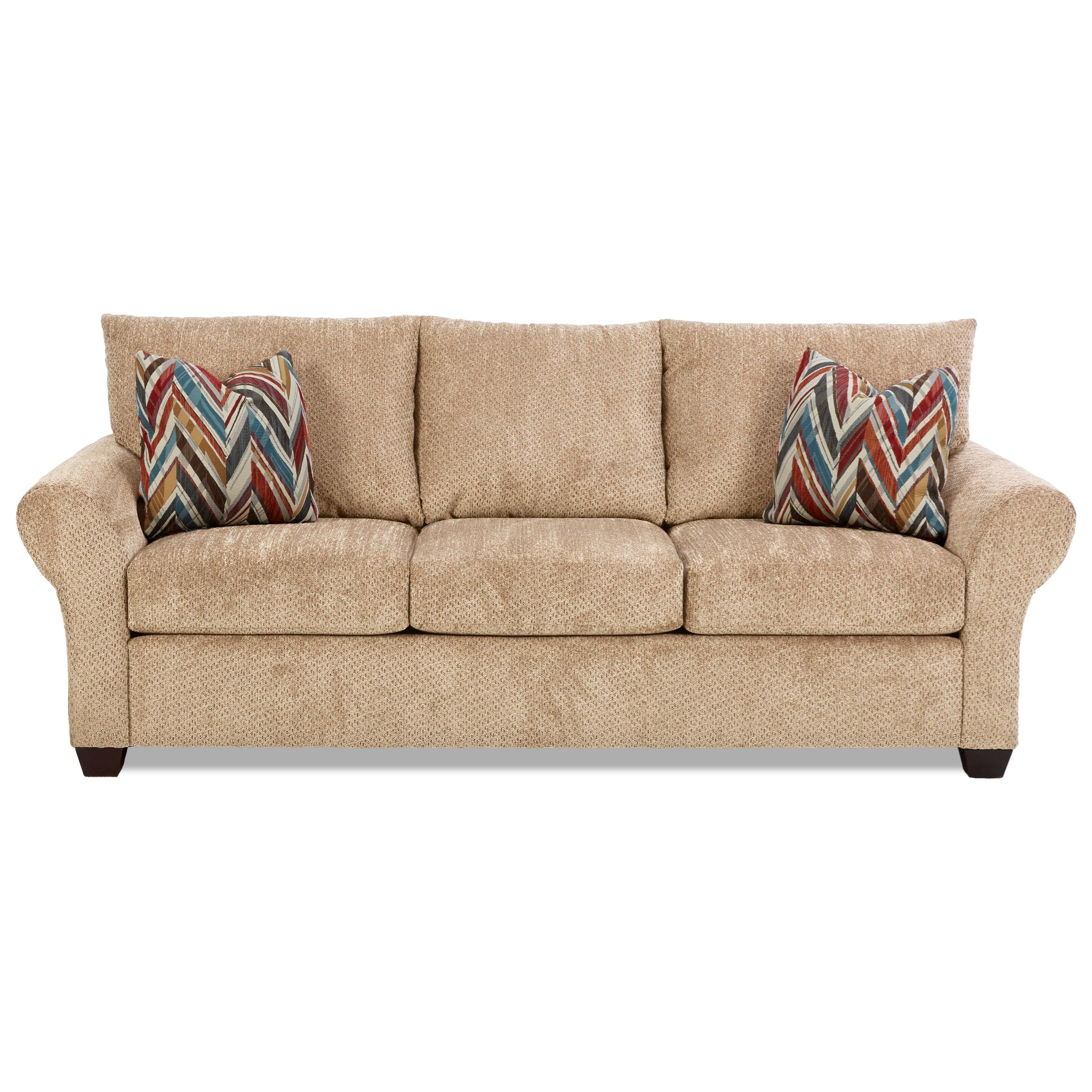Klaussner Cedar Creek Sofa - Item Number: K16300 S-Chunky Putty